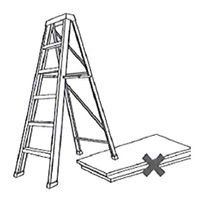 Ladder Not On Stable Ground