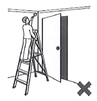 Ladders and door safety
