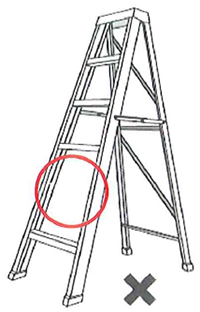 Missing step in the ladder